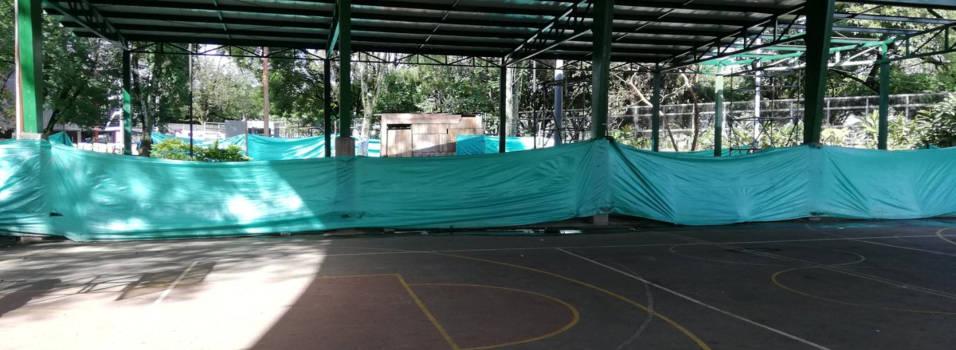Un semestre a la espera del gimnasio del Polideportivo Sur