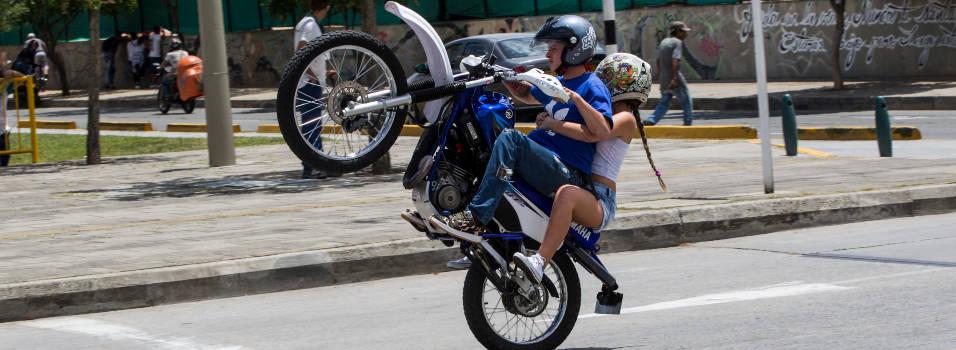 ¿Hay piques ilegales de motos en Belén?