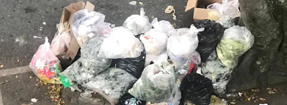 Queja reiterada por basuras en San Joaquín