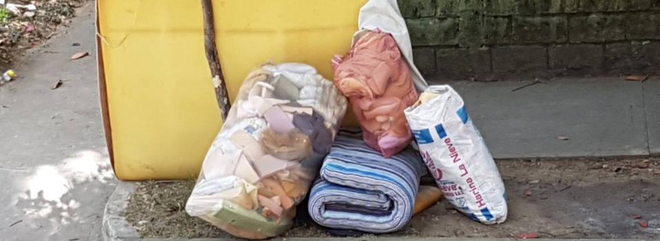 Vecino denuncia basuras en Belén Las Mercedes
