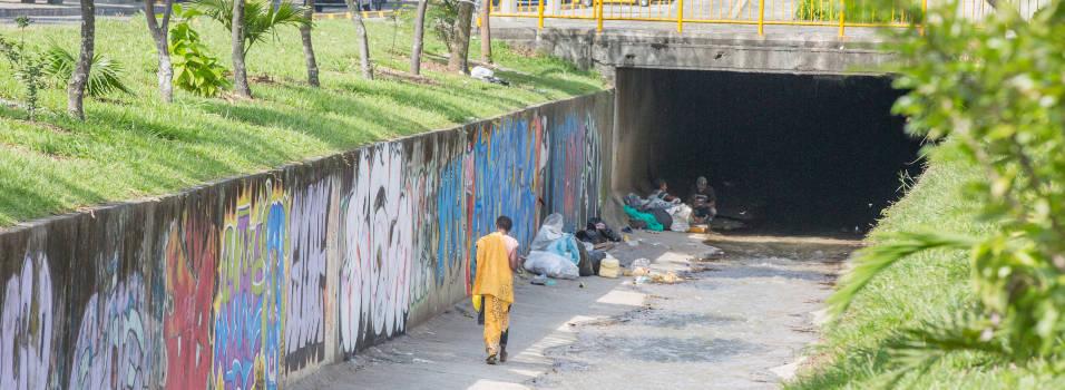 Vecinos se quejan por aumento de habitantes de calle en Belén