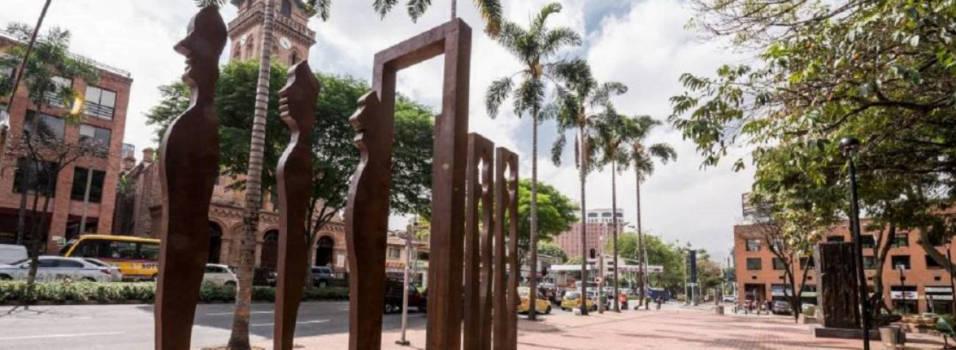 El Parque de El Poblado tiene una nueva escultura