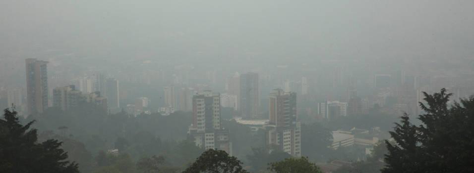 El martes el aire en Envigado fue dañino para grupos sensibles