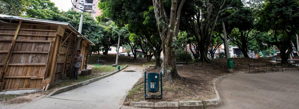Este es el estado de los parques de Belén que serán intervenidos
