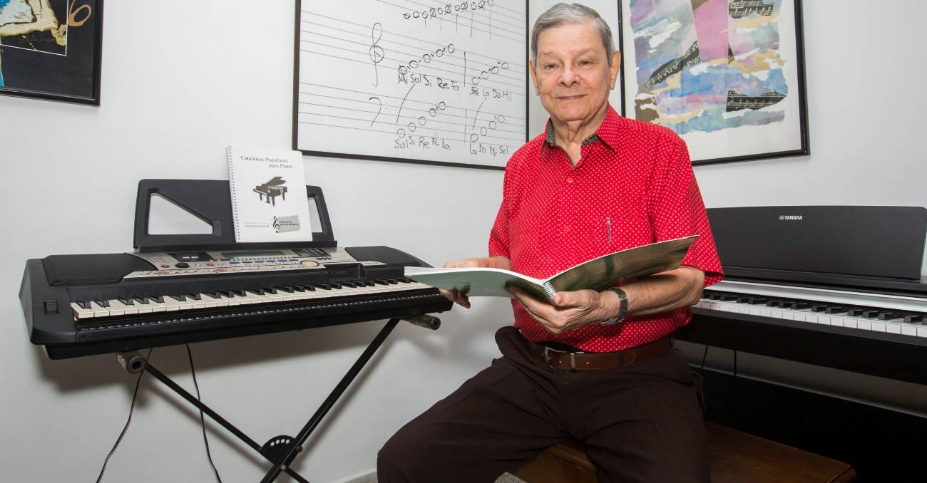 Laureano, el primer pianista de Los Graduados