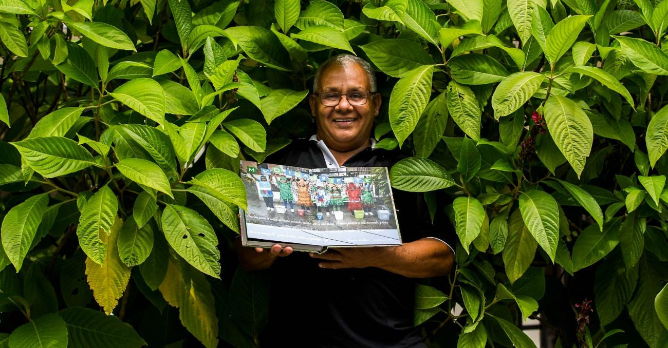 Luis Fernando puso en escena la educación ambiental