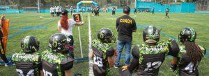 Medellín ya tiene cancha de fútbol americano