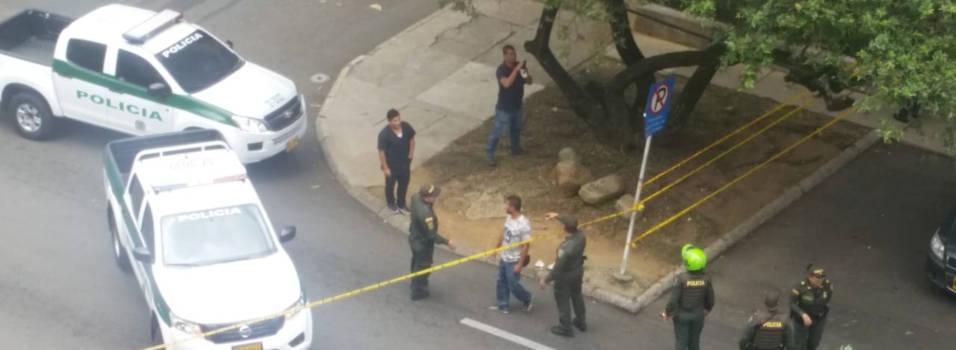 Presunto fletero, primer asesinado en El Poblado este año