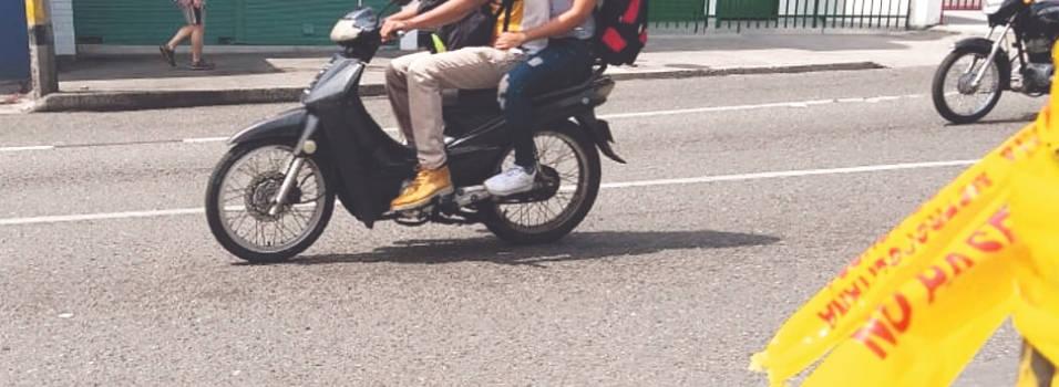 Hombre fue asesinado en plena avenida San Juan