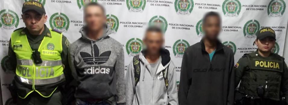 Ladrones de celulares fueron capturados en El Poblado