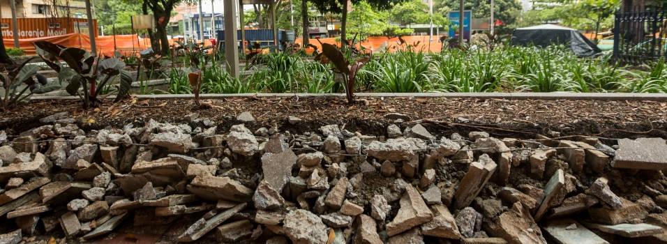 Comenzaron las obras de remodelación del parque de Belén