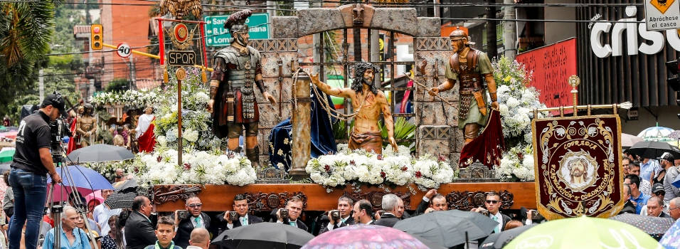 FOTOS Así se vivió la Semana Santa en Envigado