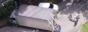 1 muerto y varios heridos deja choque múltiple en Los González