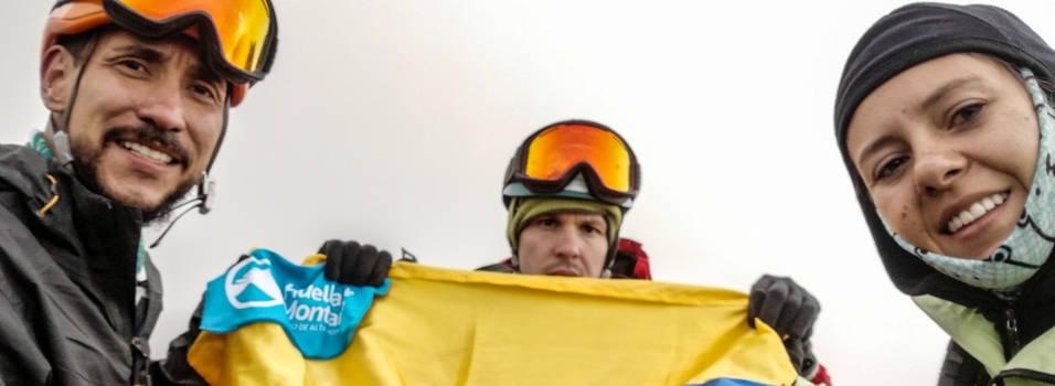 Club envigadeño, primero en ascender de forma autónoma al Nevado del Ruiz