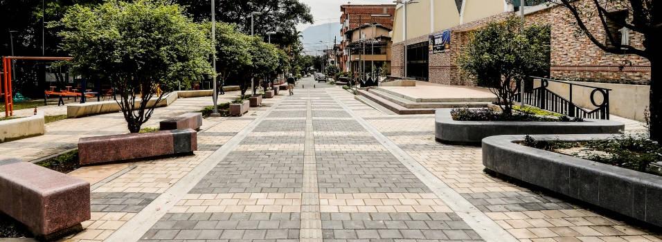En El Dorado estrenan vía solo para peatones
