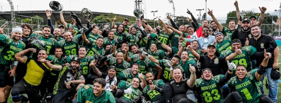 Hunters triunfó en el Super Bowl paisa