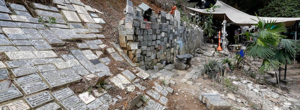 Por qué están desmontando la gruta de la virgen La Aguacatala