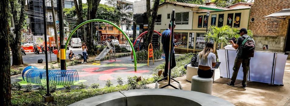 Privado renovó el parque infantil de la Divina Eucaristía