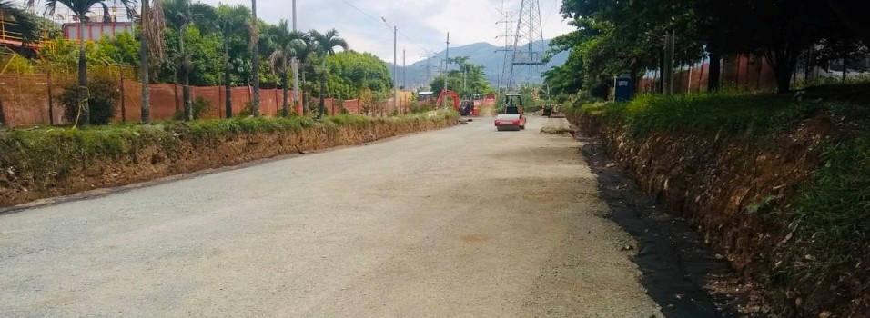 ¿Cómo van las obras en la vía Distribuidora en Envigado?