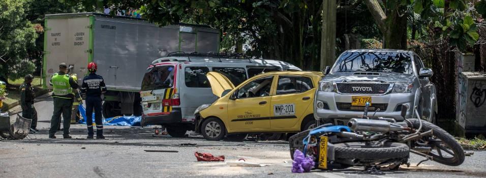 Accidente en las lomas de El Poblado siguen sin freno