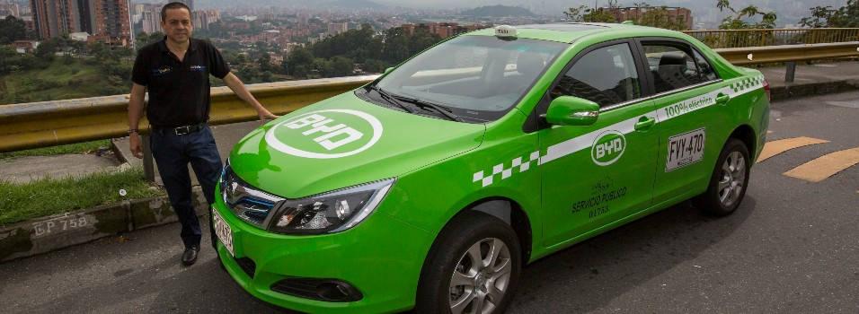 Belén tiene el primer taxi eléctrico de Medellín