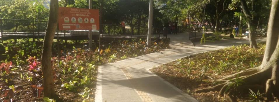 Concluyó renovación del parque de La Bailarina, en Astorga