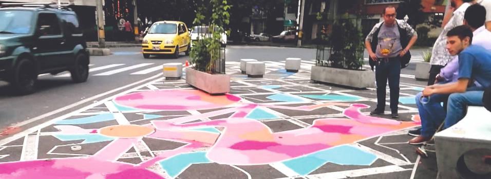 En Laureles adecuaron más puntos con urbanismo táctico