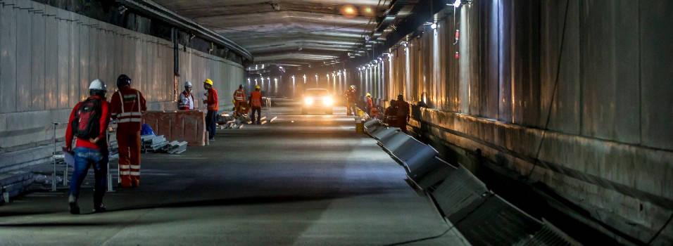 FOTOS túnel de oriente estaría listo el 1° de agosto