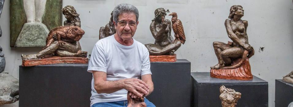 La fauna silvestre y la mujer se unen en la obra de Miguel Ángel