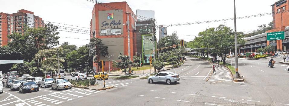 Las obras viales que conectarán a Envigado con Medellín