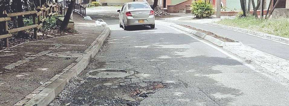 Vecino pide que pavimenten después de las obras de La Picacha