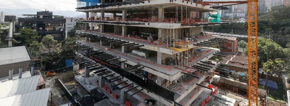 Seguirán construyendo nuevos edificios en Eafit