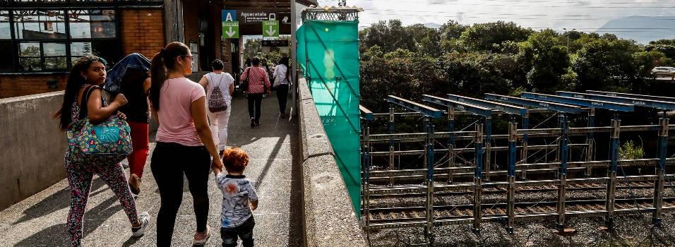 Ampliación de la estación Aguacatala estaría lista en diciembre