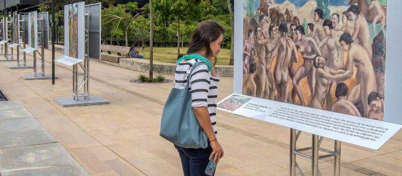 Así es la galería de Pedro Nel Gómez en Parques del Río
