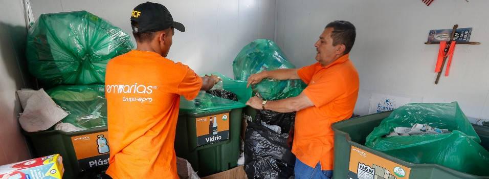 Así reciclamos en el occidente de Medellín
