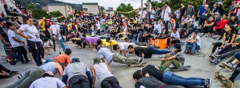 Así se vivió el Primer Festival Skateboarding de Envigado