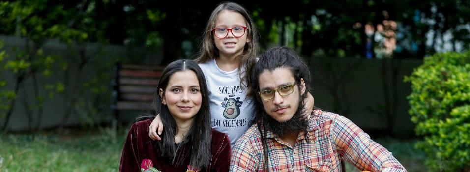 Así vive una familia vegana en Medellín
