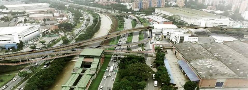 El puente que le faltará al intercambio vial de La Ayurá
