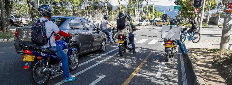 En Belén los ciclistas piden más protección