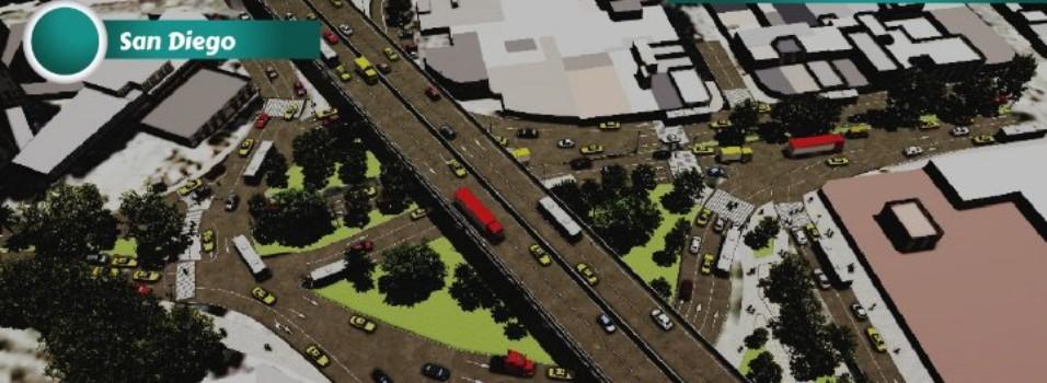 Glorietas de la 33 serán intervenidas por apertura del túnel de oriente