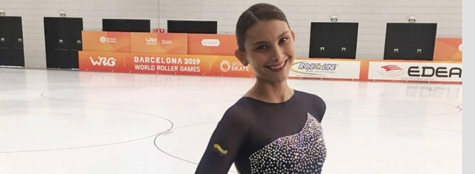 La quinta mejor patinadora artística del mundo es envigadeña