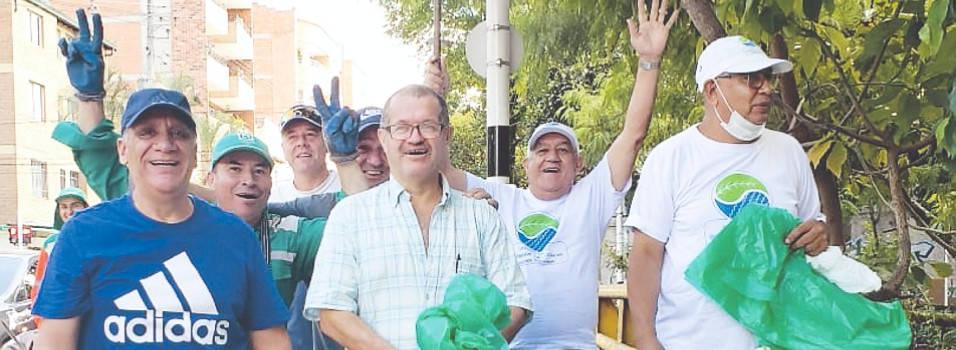 Nueva jornada de limpieza en la quebrada La Picacha