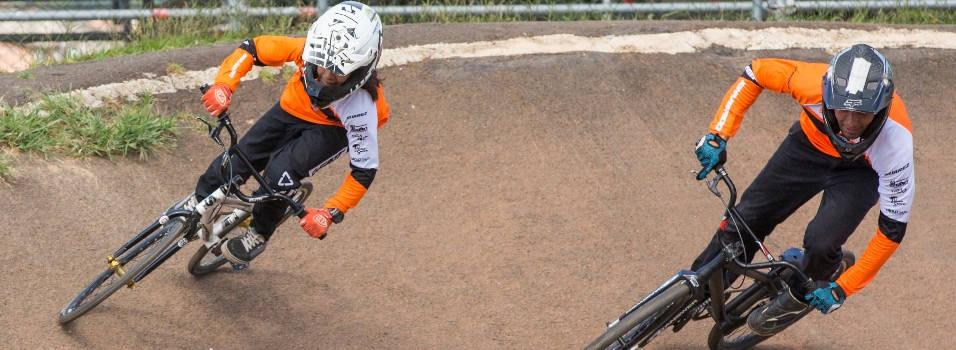 Padre e hijo de Envigado correrán en el mundial de BMX
