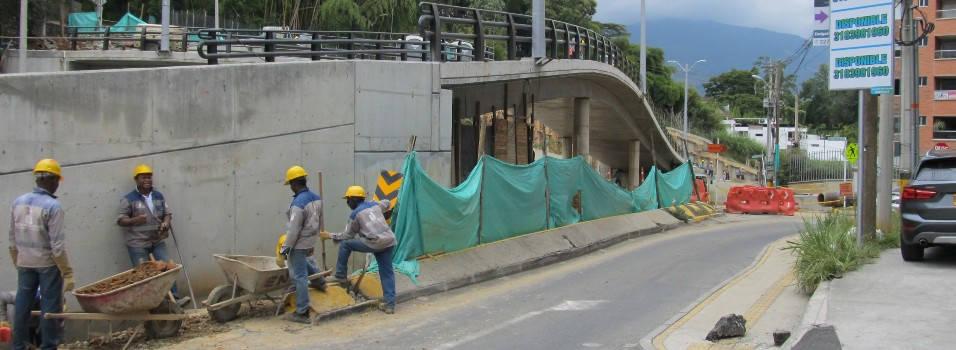 Puente de El Esmeraldal debería estar listo el 18 de julio