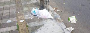 Vecino denuncia mala disposición de basuras en sector de Laureles