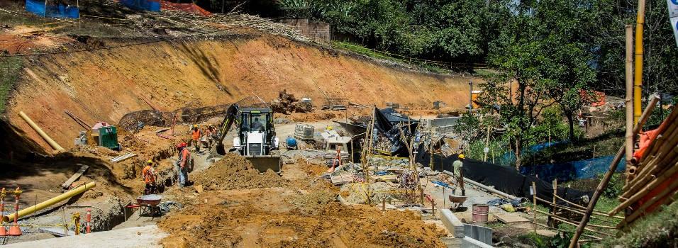 4 de las 5 obras que se construyen por valorización en El Poblado están retrasadas