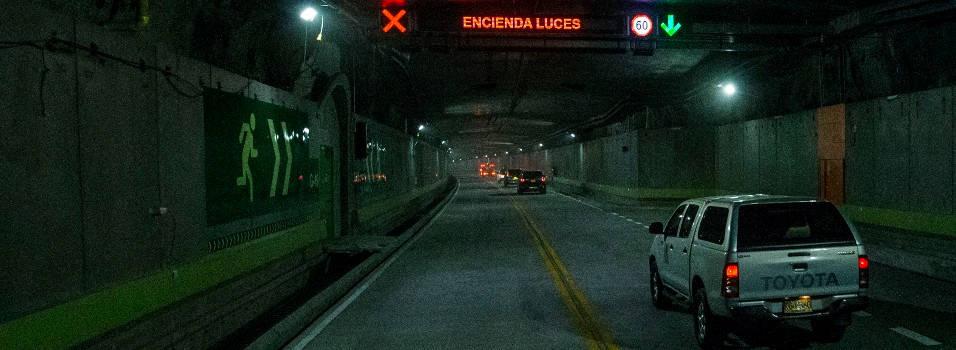 Así se llega al túnel de oriente