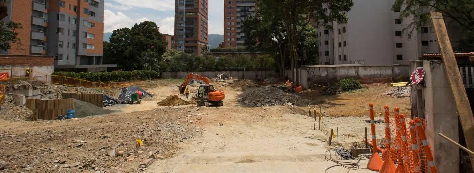Así va la construcción del parque memorial donde estaba el Mónaco