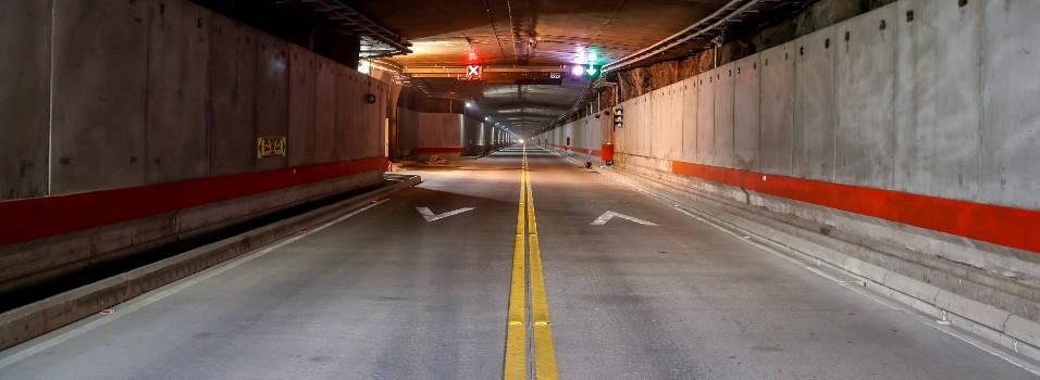 Con el túnel de oriente el aeropuerto quedó a 18 minutos