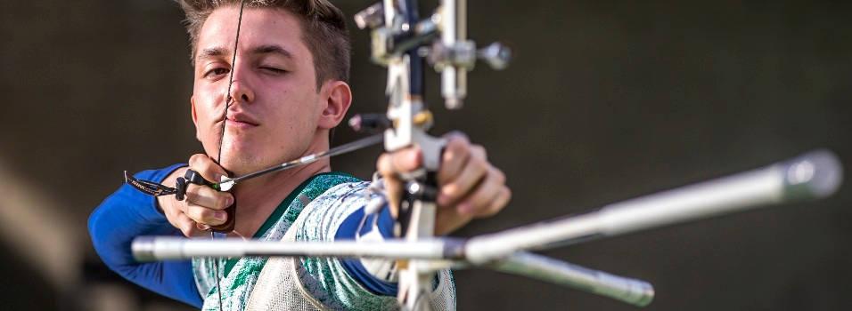 Juan Camilo es el futuro del tiro con arco